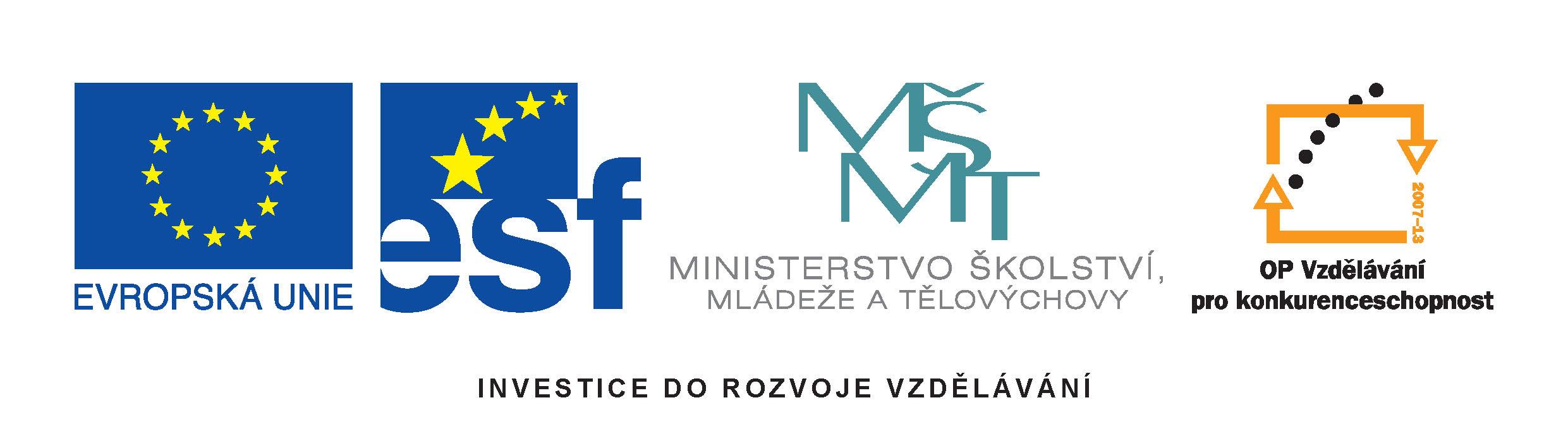 Obrázek Logo EU projekt -