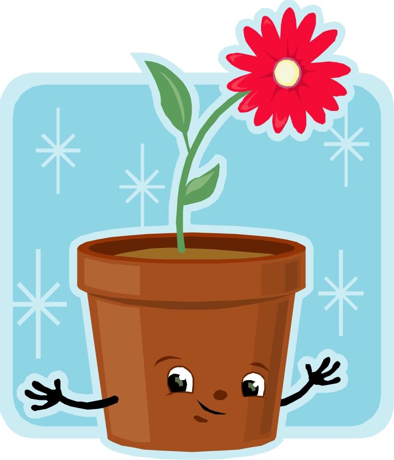 Obrázek květináč -